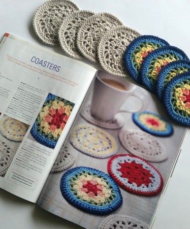 Coasters! Free Crochet pattern | Coaster crochet | Pinterest ...