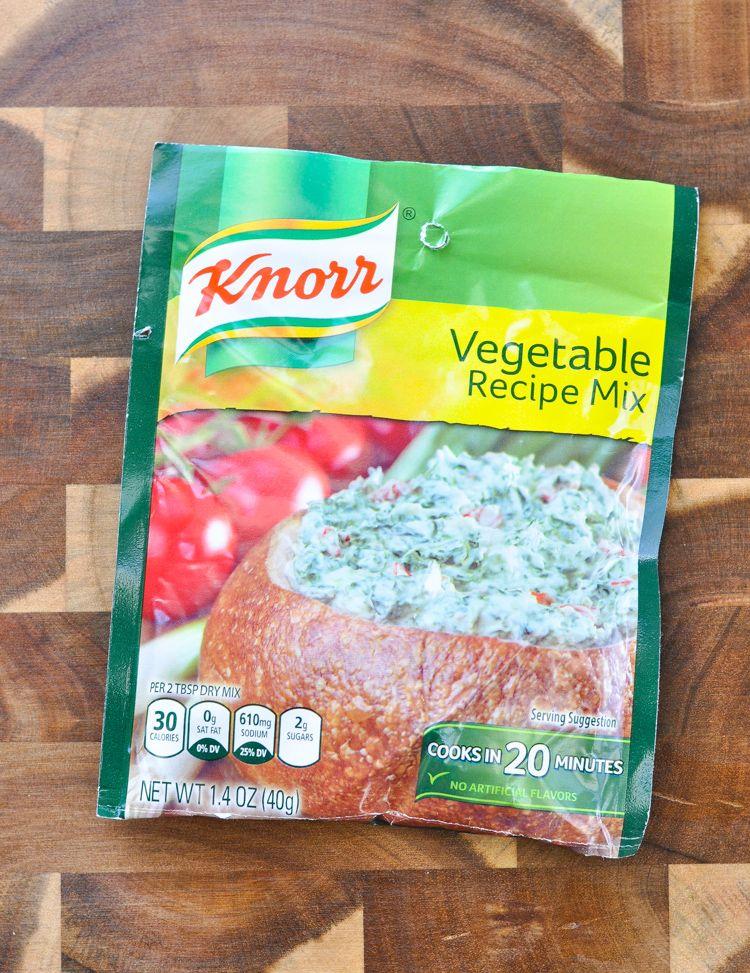 5ingredient spinach dip recipe knorr vegetable recipe