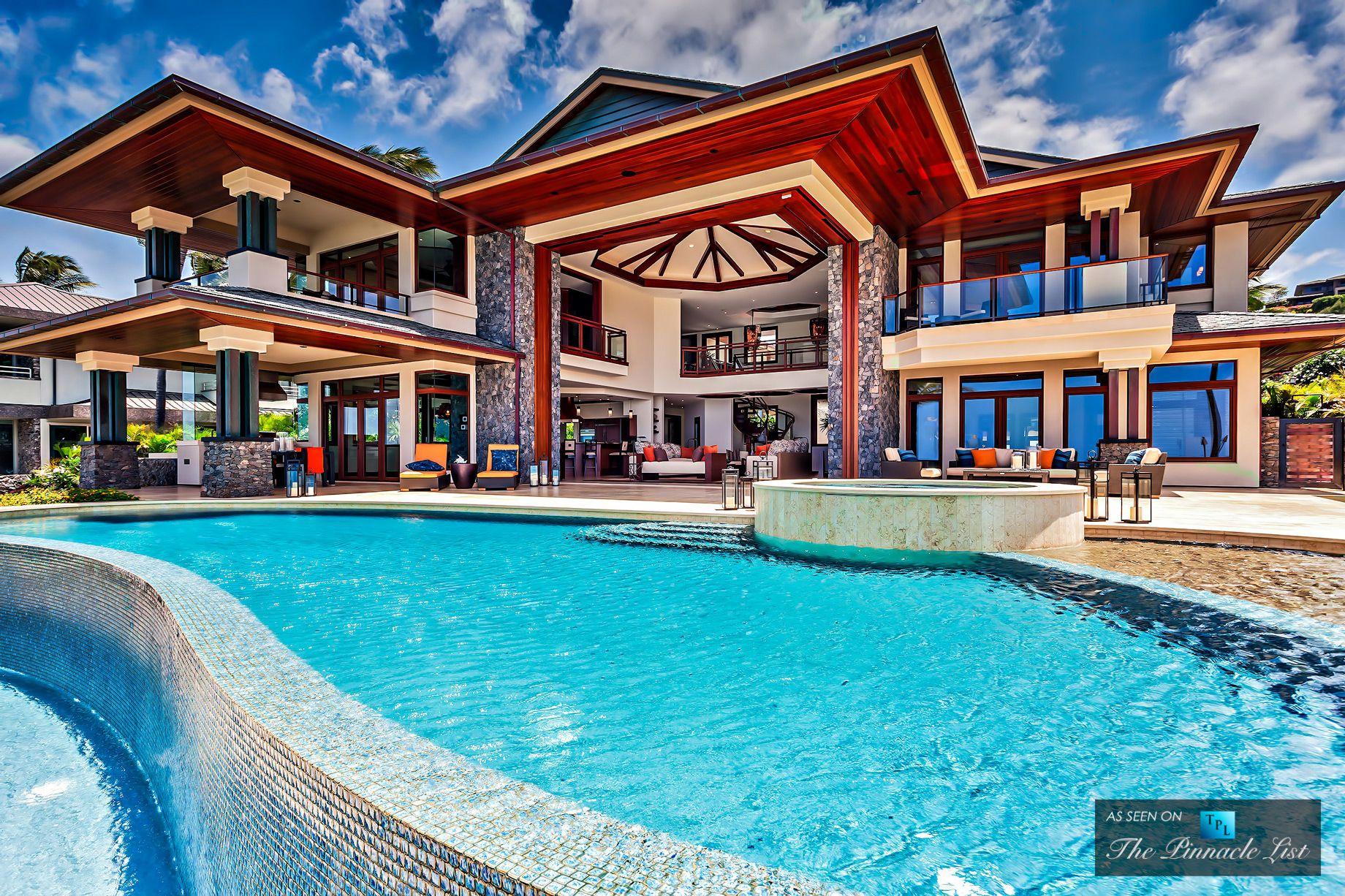 Beachfront Luxury Home For Sale At 3 Kapalua Place, Kapalua, Lahaina, Maui,  Hawaii For $20,880,000.