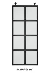 VERRIERE sliding loft doors, minimalist style |  RHENIUM…