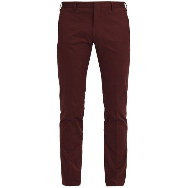 57a48286 Paul Smith Slim-leg stretch-cotton chino trousers (16.665 RUB) ❤ liked