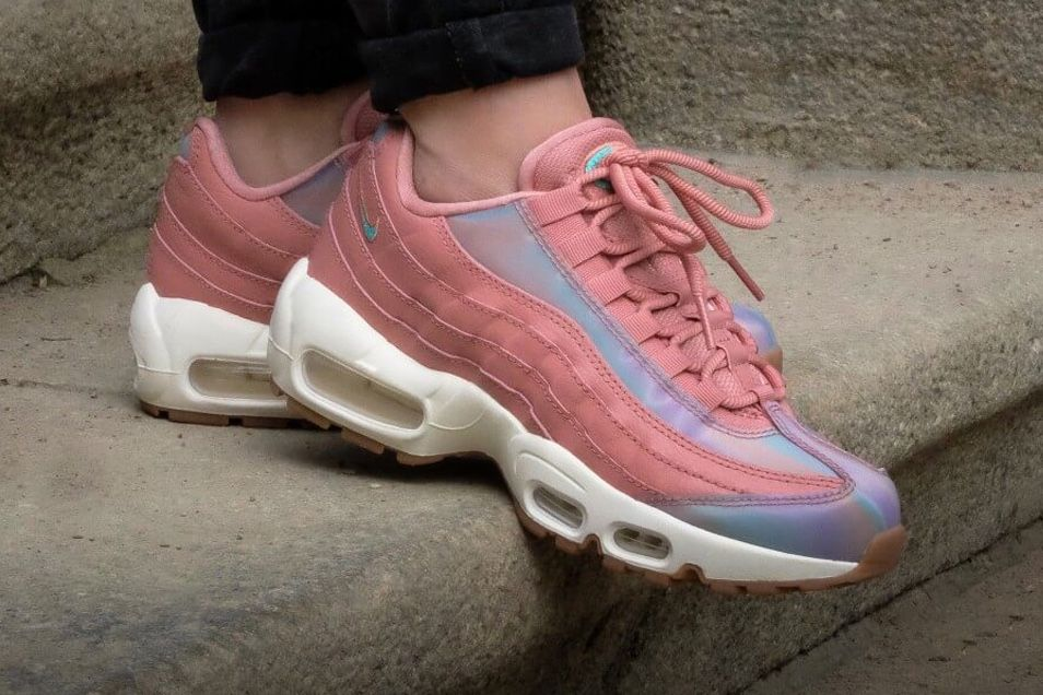best sneakers 75b3d 82734 ... The Iridescent Nike Air Max 95 ...