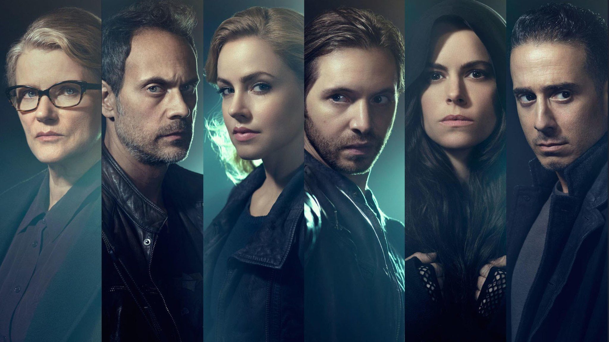 The cast of SyFy's 12 Monkeys. Can the heroes stop the