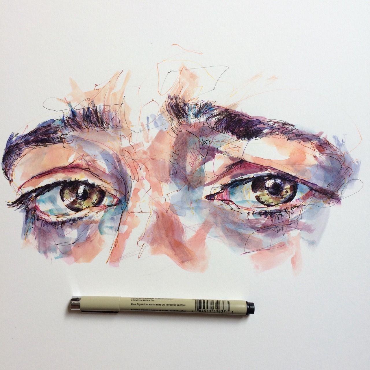 Polaroid Illusion Anamorphosis 3d Drawings Illusions