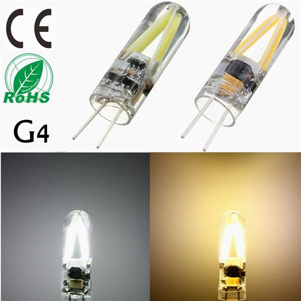 G4 1 5w Filament Cob Ac Dc 12v Led Warm White White Spotlight Chandelier Light Bulb Lamp Light Bulb Lamp Chandelier Lighting 12v Led
