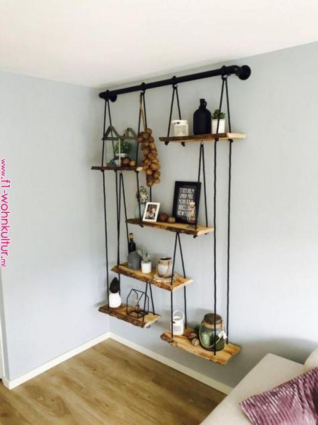 Nachttisch selbstgemacht! Mit diesem DIY Nachttisch wird dein Schlafzimmer einma..., #decora...