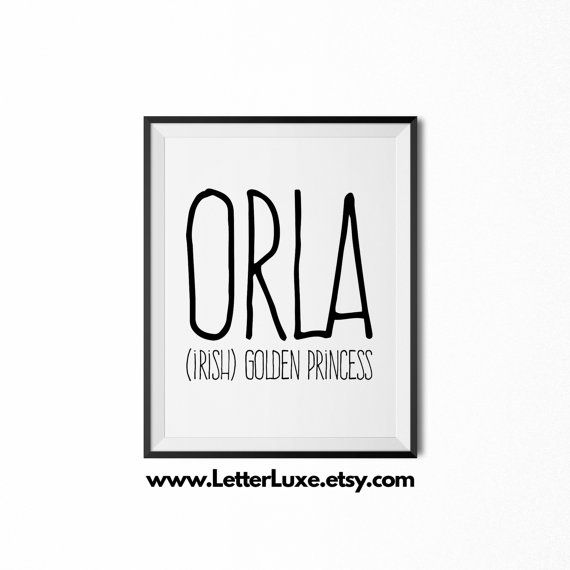 Orla name meaning art nursery decor babies nursery dcor and orla name meaning art nursery decor negle Image collections