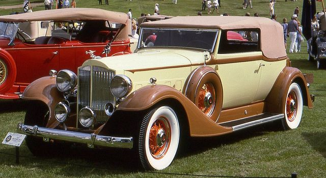 1933 Packard Super Eight Convertible Victoria...Brought to you by #HouseofInsurance in Eugene, OR.