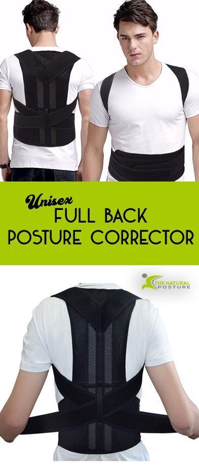 74ab7e9453 Deluxe Full Back Posture Corrector Brace