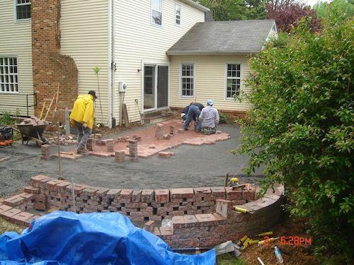 Brick Patio Pavers | Washington DC Area | Drainage And Erosion Solutions
