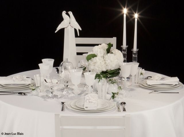 table de mariage blanc options deco mariage pinterest. Black Bedroom Furniture Sets. Home Design Ideas