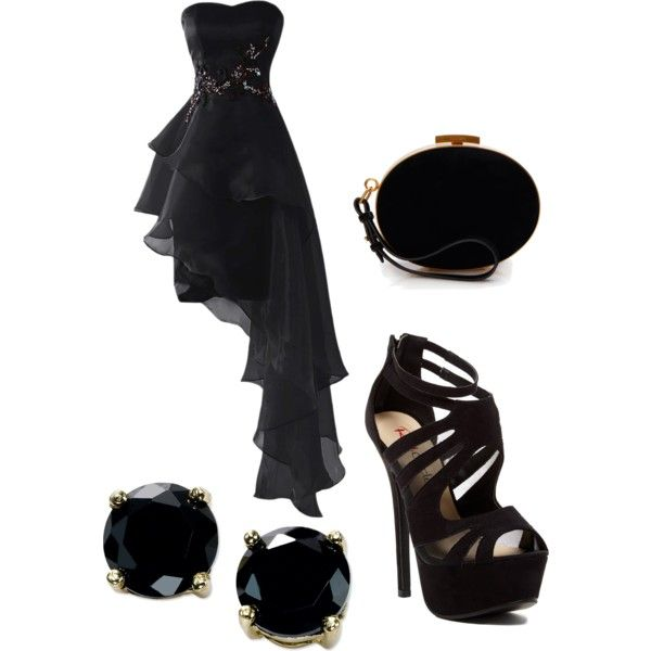 Untitled #84 by hollie-luv on Polyvore featuring Red Circle, Nina Ricci, B. Brilliant and Dark