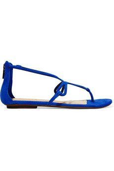 Schutz Sabra suede sandals   THE OUTNET