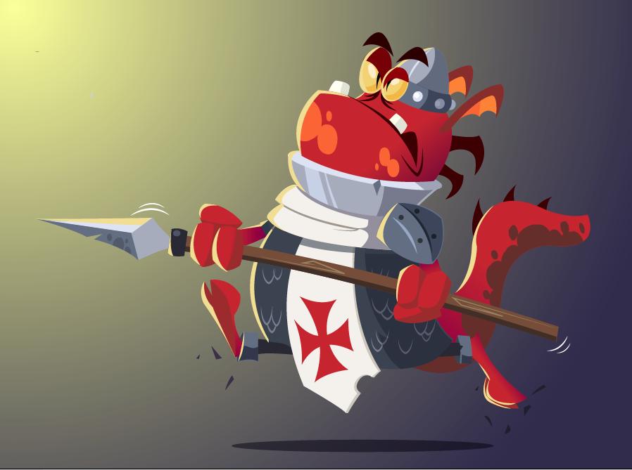 Templar Soldier by Fietro