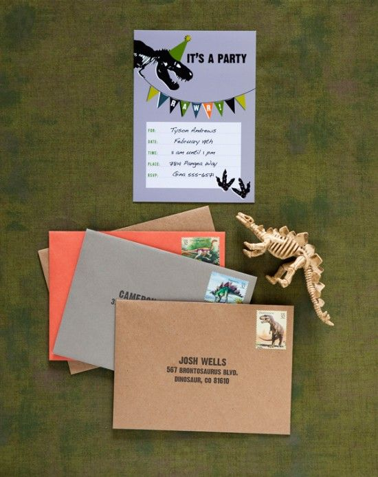 17 Best images about dino party – Dinosaur Party Invitation Ideas