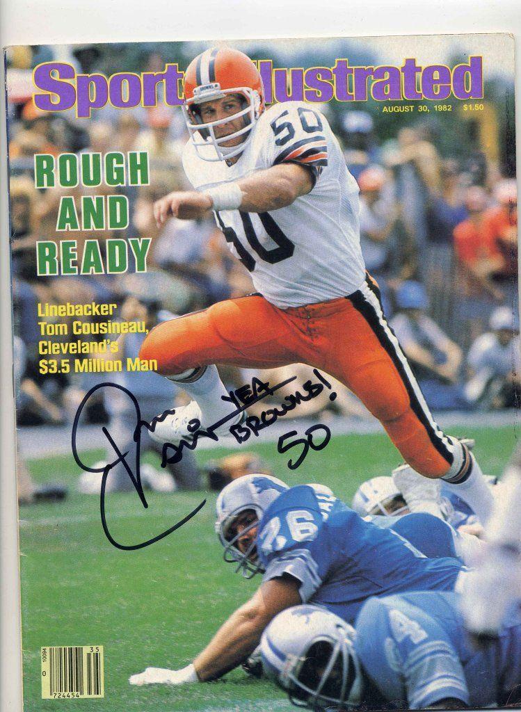 SIGNED Tom Cousineau Sports Illustrated magazine