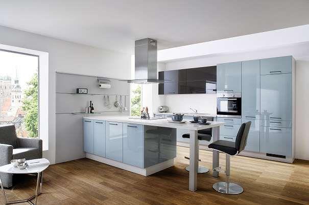 Schnäppchenangebot Fabriksneue Küche mit Kochinsel inkl aller - küche mit kochinsel