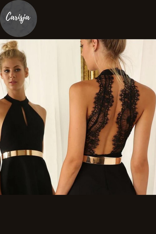 emily - elegantes kleid mit rückenausschnitt | kleid