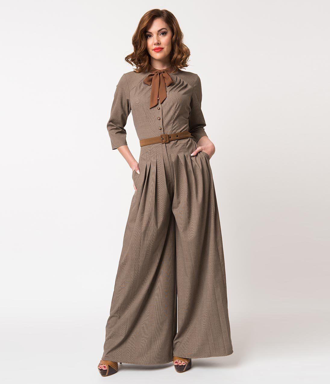 80de3778f3 1940s Swing Pants   Sailor Trousers- Wide Leg
