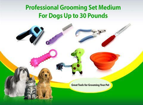Dog Grooming Tools Medium Pets Up To 30 Lbs Deshedding Nail