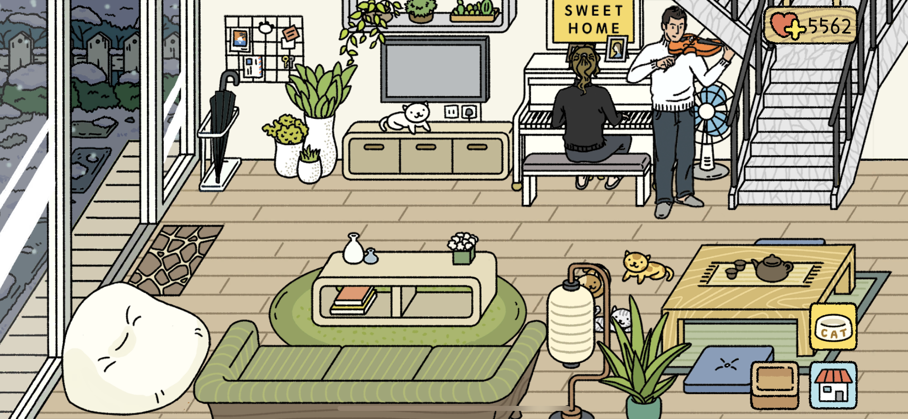 Adorable Home Game Decoration Ideas Rumah