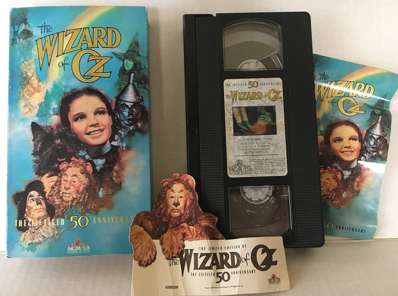 VCRWIZARD of OZMovie Tape th Anniversary Edition