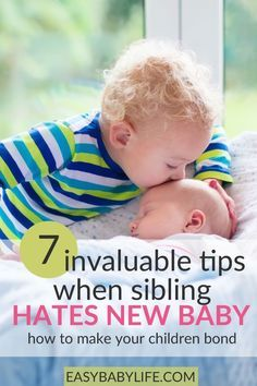 Wonderful tips to help siblings bond. What to do when your ...