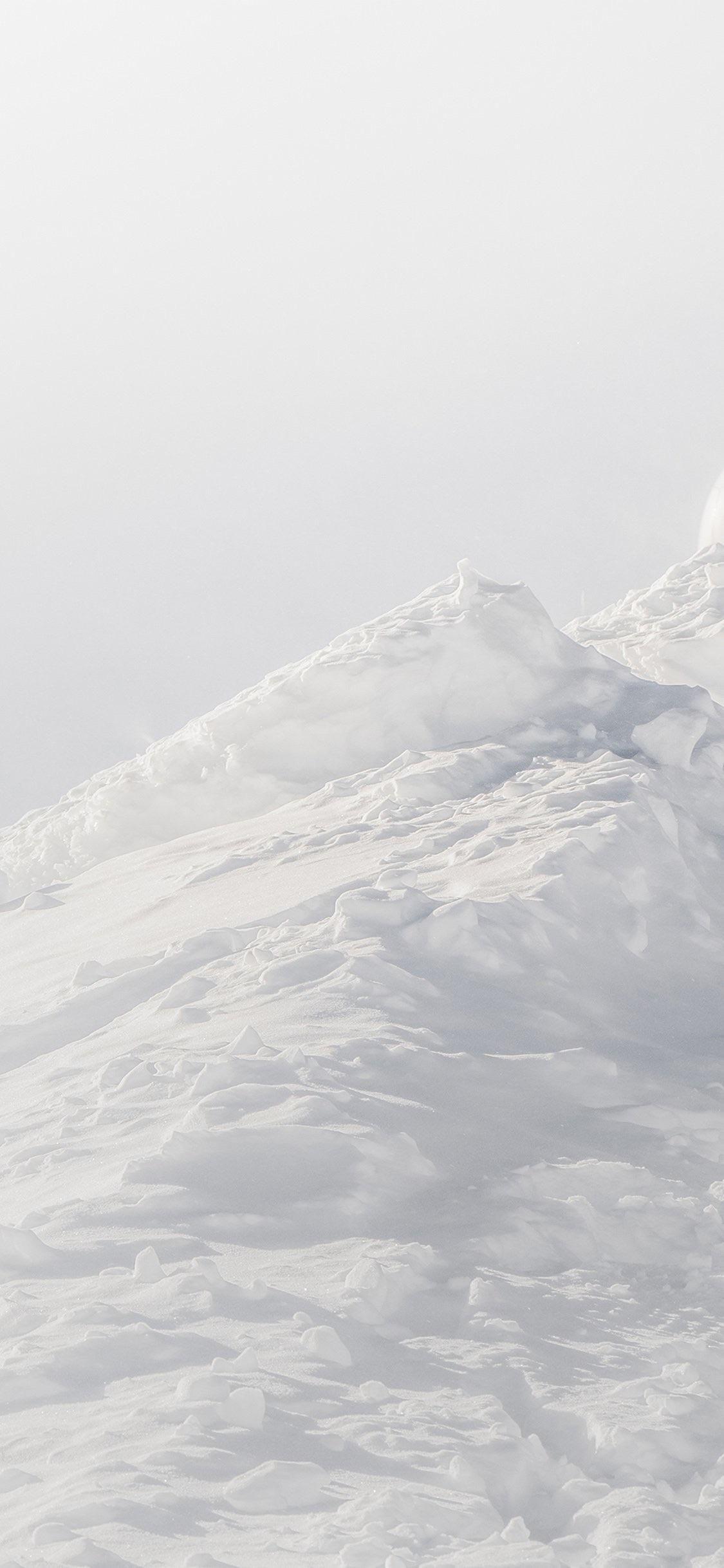 White minimalist mountain Minimalist wallpaper phone