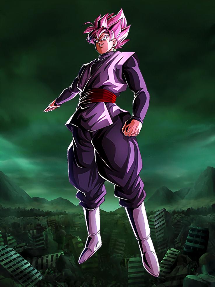 Goku Black Rose Card Dokkan Battle By Maxiuchiha22 On Deviantart Goku Black Dragon Ball Super Manga Anime Dragon Ball Super