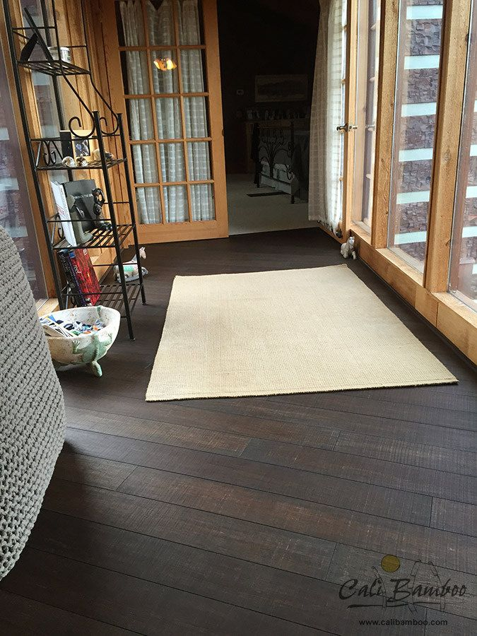 Rustic Wood Floors - Barnwood Fossilized® Wide T&G | by Cali Bamboo - Cali Bamboo