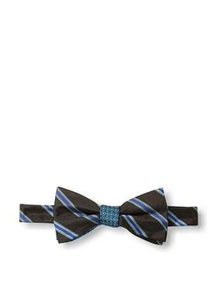 47% OFF Ben Sherman Men's Reversible Pre-Tied Neat Stripe Bow Tie, Cobalt
