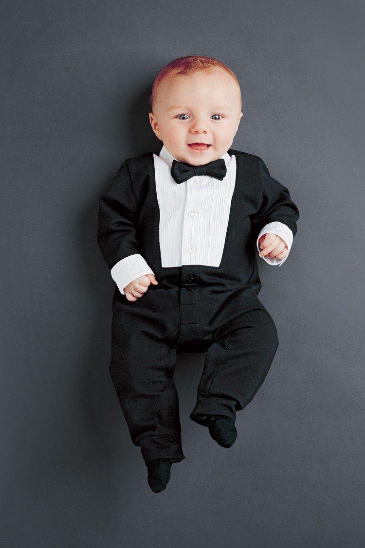 schwarzer anzug strampelhose mit fliege f r baby junge baby 39 s pinterest schwarzer anzug. Black Bedroom Furniture Sets. Home Design Ideas