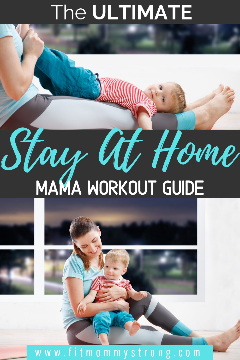The Ultimate Stay At Home Mom Workout Guide - Tips to help you get rid of that after baby belly and get back to your pre-baby body. #stayathome