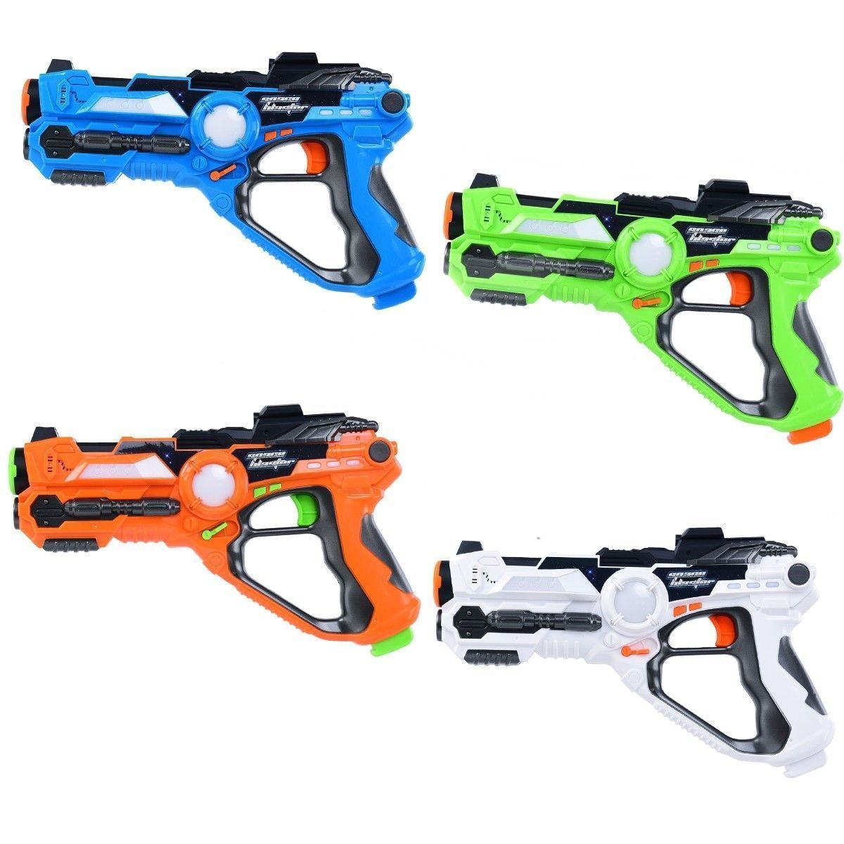 Laser Tag Guns Set Of 4 Infrared Blasters Indoor Outdoor 132 Ft Active Game Toy All Proceeds Go To Help The Disabled Outdoor Settings Indoor Outdoor Outdoor