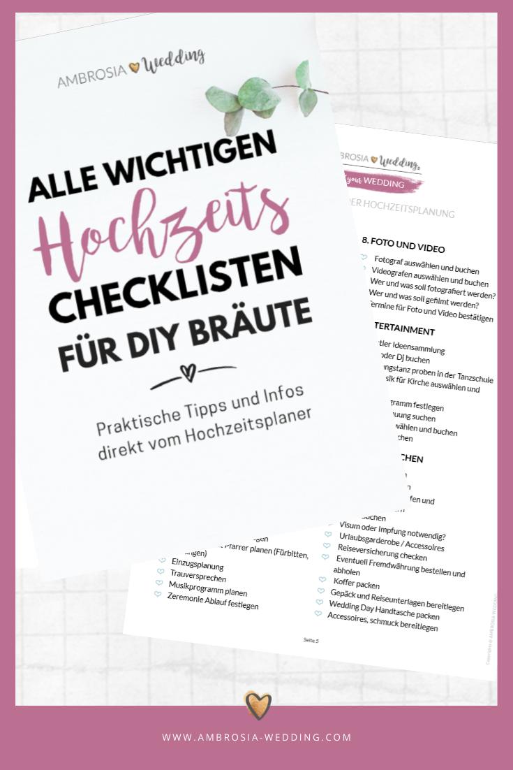 Checkliste Hochzeit Das Buch Mit Den Wichtigen Hochzeitschecklisten Checkliste Hochzeit Hochzeitscheckliste Diy Hochzeitskarten