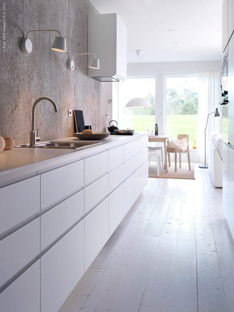 82 Minimalist Kitchen Design Ideas #ikeagalleykitchen