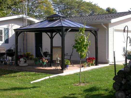 null Jackson 12 ft. x 10 ft. Hardtop Gazebo | Home depot, Home and ...