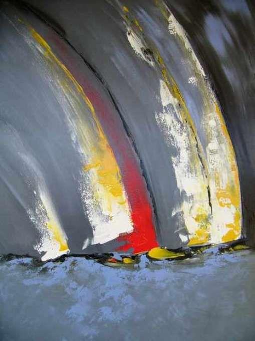 Portail d'artiste de ANDREO Michel | Peinture de voilier, Peinture abstraite  moderne, Peinture abstraite