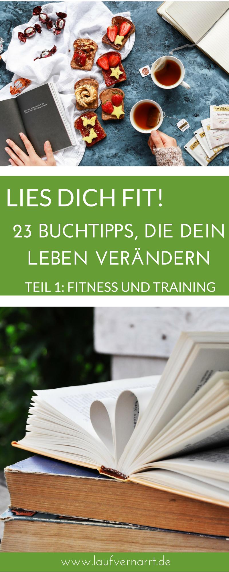 Lies dich fit! 23 Buchtipps, die dein Leben verändern (Teil 1 - Fitness) - Laufvernarrt