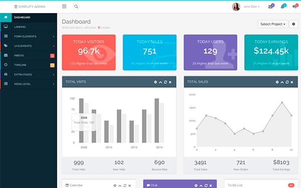 dashboard themes