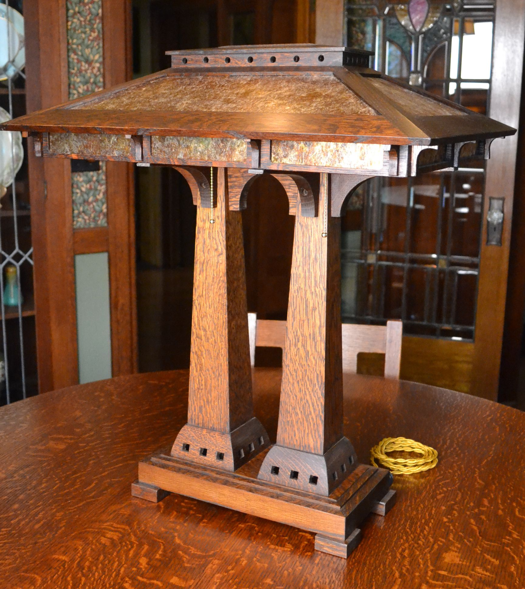 Arts Crafts Style Lighting Mission Table Lamps Ragsdale Home