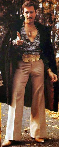44 delirious demonstrations of men's fashion from the 70's – 2out2No   – 70s hel…