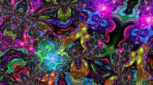 Resultado de imagem para psychedelic wallpaper 3d