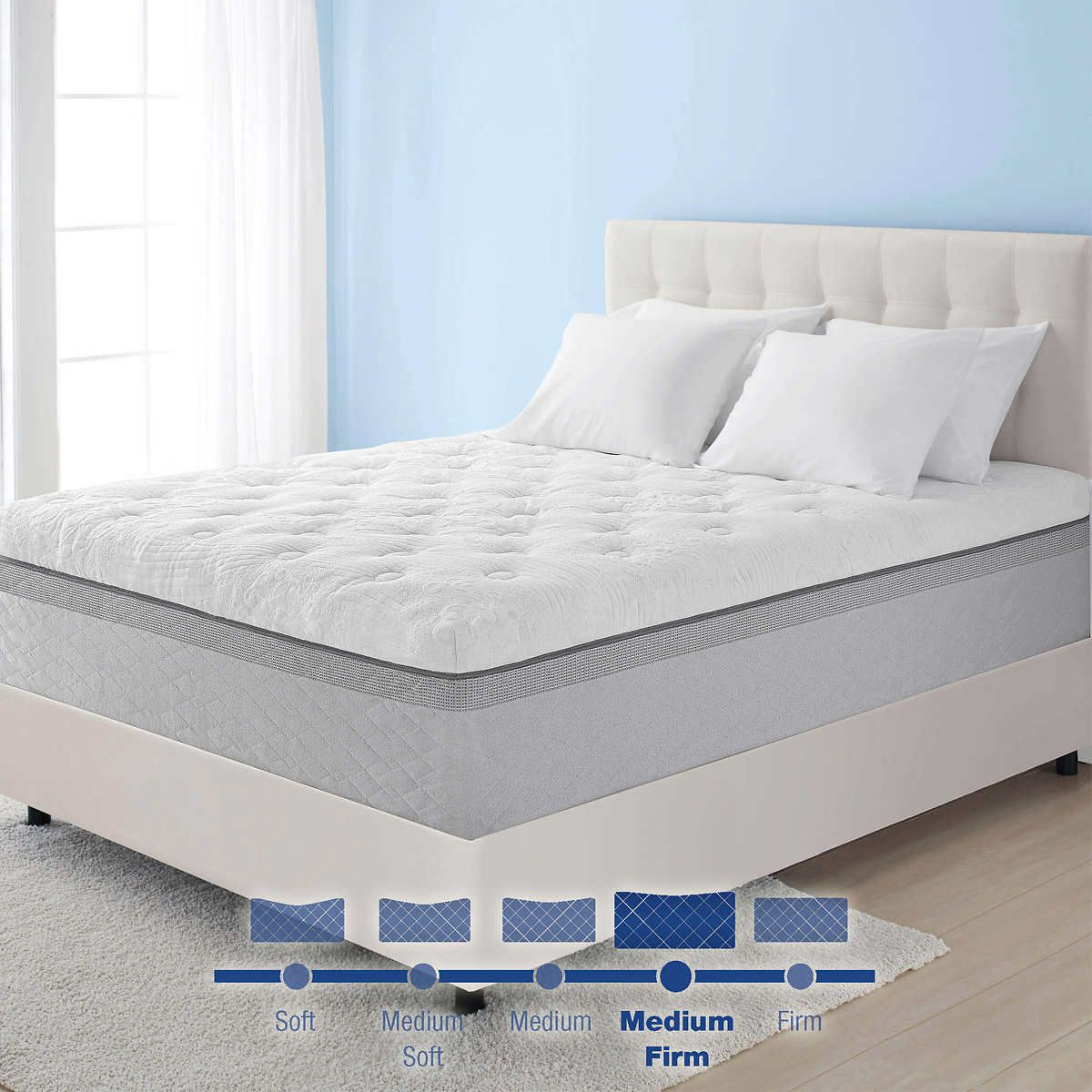just stearns costco and bedroom for dreams photo king best queen foster mattress