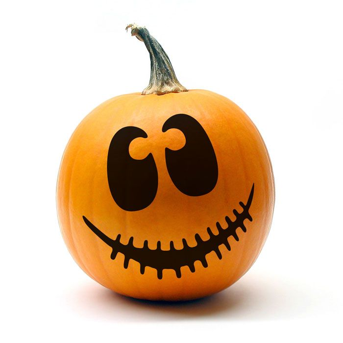 halloween foam face stickers