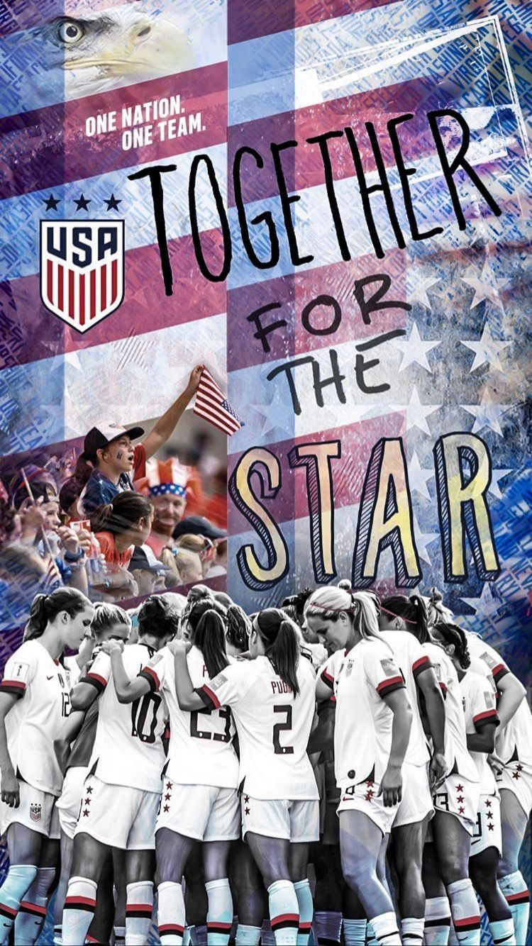 Usa National Women S Soccer Team 2019 World Cup France Wallpaper Usa Soccer Women Us Women S National Soccer Team Usa Soccer Team