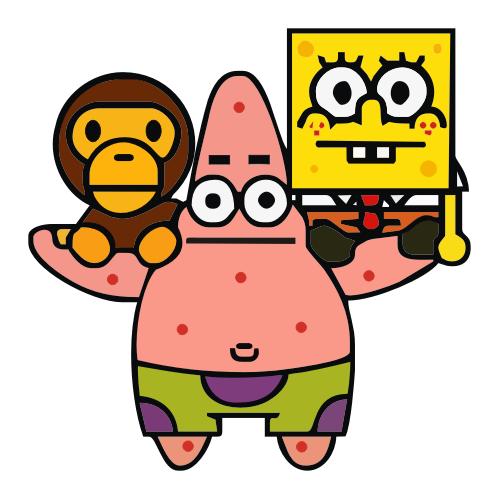 Baby Milo 角色 Pinterest Spongebob Stickers And Tumblr