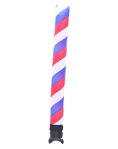 10 Foot Barber Pole Red White Blue Tube Air Dancer By Look Our Way In 2020 Barber Pole Dancer Red And White
