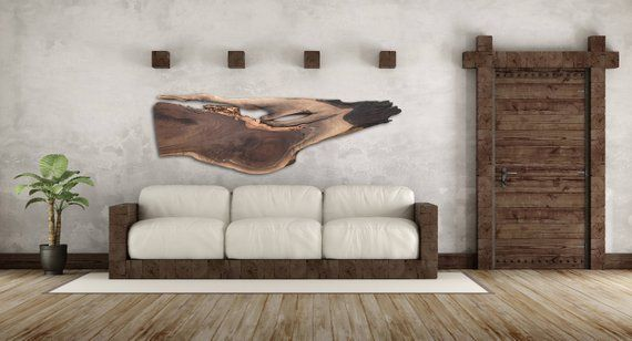 Live Edge Wooden Wall Decor Beautiful Large Live Edge Wood Slabs Handcrafted Into Unique One Of A Kind Rustic Modern Wood Wall Decor Wooden Wall Decor Large Wood