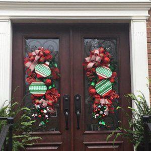 Christmas Centerpiece - Christmas Arrangement - Gingerbread Decoration - Gingerbread Decor - Gingerbread Centerpiece - Christmas - Sugarland #decomeshwreaths